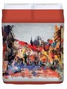 Prague Collection -1 Duvet Cover