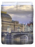 Prague, Czech Republic Duvet Cover