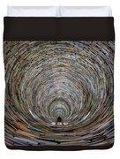 Prague Library Book Tower Duvet Cover
