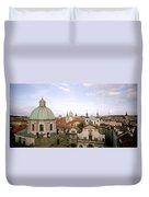 Prague Twilight Duvet Cover