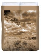 Prairie And Sky Duvet Cover