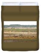 Prairie Bison Duvet Cover