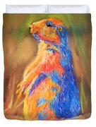 Prairie Dog 1 Duvet Cover