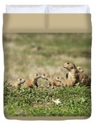 Prairie Dog Family 7270 Duvet Cover
