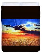 Prairie Gold Duvet Cover