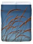 Prairie Grass Landscape Duvet Cover