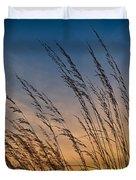 Prairie Grass Sunset Duvet Cover