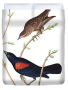 Prairie Starling Duvet Cover