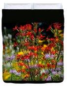 Prairie Wildflowers 2 Duvet Cover