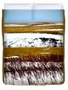 Prairie Winter Duvet Cover