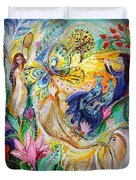 Praise Him With The Timbrel And Dance Duvet Cover