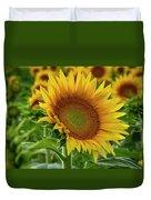 Praising The Sun Duvet Cover