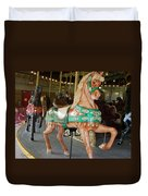 Prancing To The Music Duvet Cover