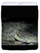 Prarie Rattle Snake Duvet Cover