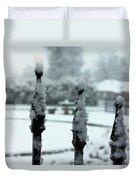 Prayer Garden 3 Duvet Cover