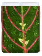 Prayer Plant Vertical Duvet Cover