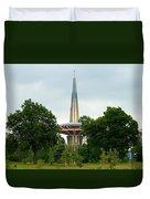 Prayer Tower Duvet Cover