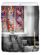 Prayers And Hope Duvet Cover