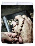 Praying For A Change Duvet Cover