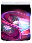 Precious Pearl Abstract Duvet Cover