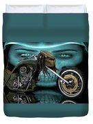 Predator Chopper Duvet Cover