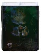 Predator Painting Duvet Cover