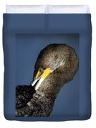 Preening Duvet Cover by Marty Koch
