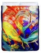 Premorphationism Glass Duvet Cover