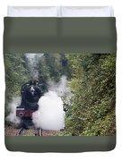 Preserved Steam Locomotive  Duvet Cover