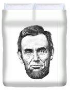 President Abe Lincoln Duvet Cover