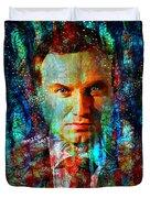 President Andrzej Duda Portrait Duvet Cover