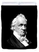 President James Buchanan Graphic Duvet Cover
