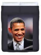President Obama Iv Duvet Cover