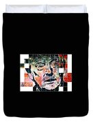 President Of The United States Donald Trump Duvet Cover