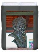 President Reagan Bust Duvet Cover