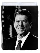 President Ronald Reagan Duvet Cover by International  Images
