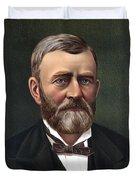 President Ulysses Grant Duvet Cover