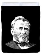 President Ulysses S. Grant Duvet Cover