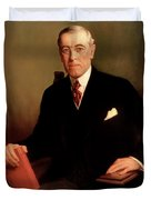 President Woodrow Wilson Duvet Cover