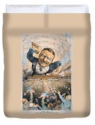 Presidential Campaign, 1904 Duvet Cover