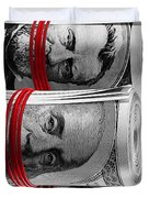 Presidents For Ransom Duvet Cover