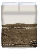 Presidio Of Monterey, Cal. Circa 1910 Duvet Cover