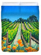 Presidio Vineyard Duvet Cover