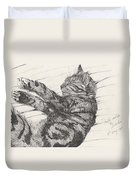 Pretty Collie Beastie Duvet Cover