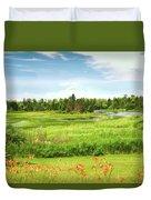 Pretty Countryside Duvet Cover