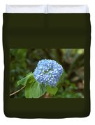 Pretty In Blue Duvet Cover