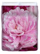 Pretty In Pink Peony Duvet Cover