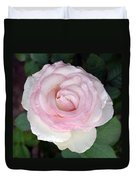 Pretty In Pink Rose Duvet Cover