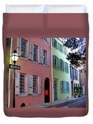 Pretty Lane In Charleston Duvet Cover
