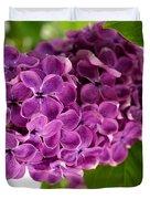 Pretty Lilac Bush Duvet Cover